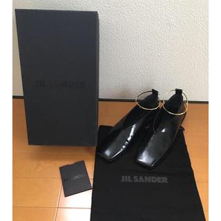 ジルサンダー(Jil Sander)のJIL SANDER 37 新品未使用正規品 ジルサンダーフラットシューズ(ローファー/革靴)