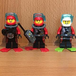 Lego - レゴ ミニフィグ ダイバー