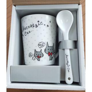 ねこマグカップセット(グラス/カップ)