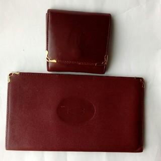 カルティエ(Cartier)のカルティエ 長財布と小銭入れ(コインケース/小銭入れ)
