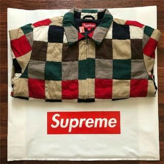 シュプリーム(Supreme)のsupreme patchwork harrington jacket(ブルゾン)