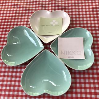 ニッコー(NIKKO)のNIKKO  ハート型お皿(食器)