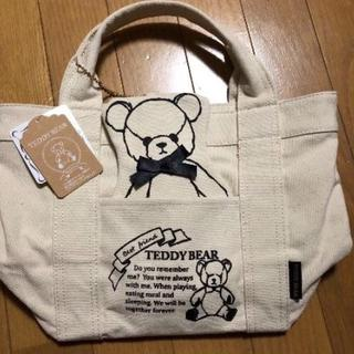 しまむら - テディベア☆ミニトートバック