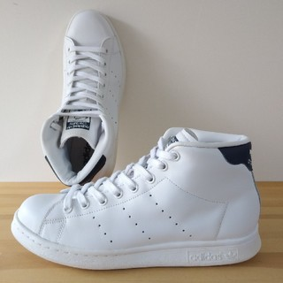 アディダス(adidas)のadidas / stan smith mid / navy / 25.5cm(スニーカー)