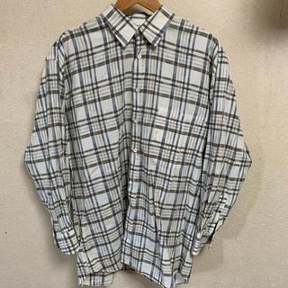 ジバンシィ(GIVENCHY)の70s OLD GIVENCHY ネルシャツ vintage 古着 イタリア製 (シャツ)