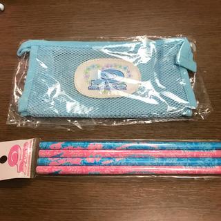 サンスター(SUNSTAR)のピコ メッシュポーチと鉛筆4本(鉛筆)