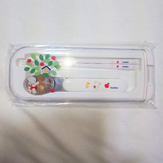 ファミリア(familiar)の【未使用】ファミリア スプーン&お箸セット(スプーン/フォーク)