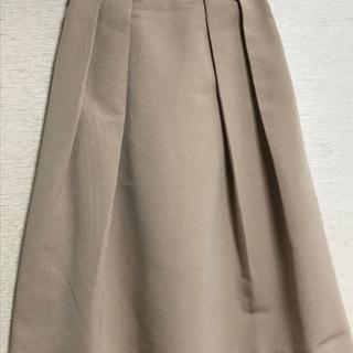 ジーユー(GU)のGU フレアミディスカート(ひざ丈スカート)