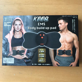 キープ(keep)のKEEP EMS/Body build up pad(トレーニング用品)