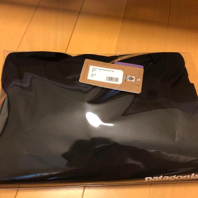 patagonia(パタゴニア)のパタゴニア ロンt L ブラック メンズのトップス(Tシャツ/カットソー(七分/長袖))の商品写真