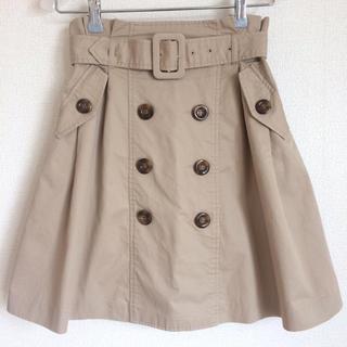 ByeBye - 美品!! フロントボタン トレンチ スカート