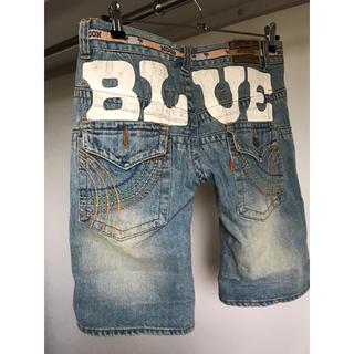 BLUE MOON BLUE - BLUEMOONBLUE♥バックデザイン♥デニムハーフパンツ