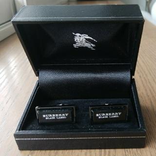 BURBERRY BLACK LABEL - BURBERRY BLACK LABEL ブランドロゴ カフリンクス