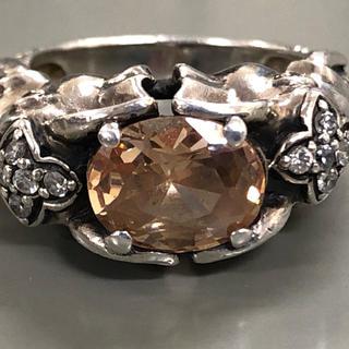 silver カラーストーン ジルコニア エレファントリング(リング(指輪))