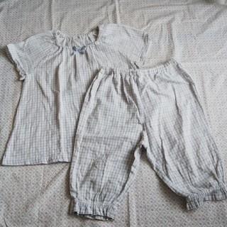 ムジルシリョウヒン(MUJI (無印良品))のMUJI 無印 パジャマ 100 キッズ(パジャマ)