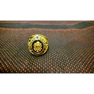 16号 カレッジリング UNITED STATES ARMY(リング(指輪))