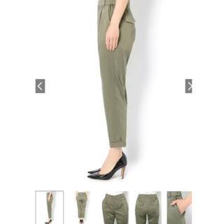 ラウンジドレス(Loungedress)のラウンジドレス   裾ねじりパンツ 美品(クロップドパンツ)
