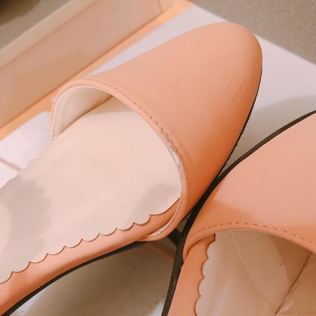 神戸レタス(コウベレタス)の神戸レタス パール付きパンプス レディースの靴/シューズ(ハイヒール/パンプス)の商品写真