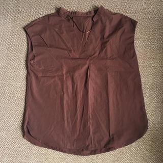 ジーユー(GU)のGU スキッパーシャツ(シャツ/ブラウス(半袖/袖なし))