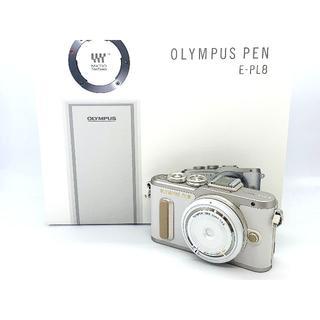 オリンパス(OLYMPUS)の★新品未使用品!★人気のホワイト★OLYMPUS オリンパス PEN E-PL8(ミラーレス一眼)
