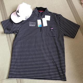 シマムラ(しまむら)のダンロップ ジップ付きシャツ 3点セット(Tシャツ/カットソー(半袖/袖なし))