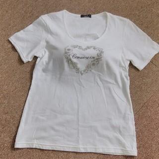 コムサイズム(COMME CA ISM)のTシャツ カップ付き(Tシャツ(半袖/袖なし))