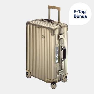 リモワ(RIMOWA)の【新品】リモワ ルフトハンザ スーツケース 63.5L プライベートジェット(トラベルバッグ/スーツケース)