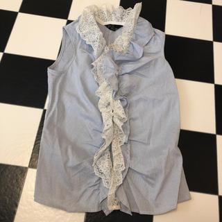 セシルマクビー(CECIL McBEE)のセシルマクビー シャツ ブラウス M(シャツ/ブラウス(半袖/袖なし))