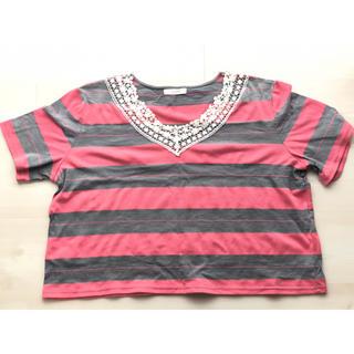 シンシア(cynthia)のショートトップス(Tシャツ(半袖/袖なし))