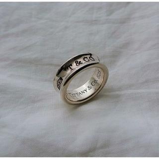 ティファニー(Tiffany & Co.)のTIFFANY&Co. ☆1837 リング 8.5号(リング(指輪))