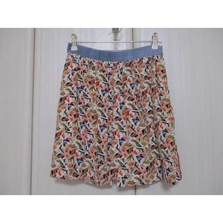フェンディ(FENDI)の美品★フェンディ★38 プリーツスカート風キュロットスカート(ミニスカート)