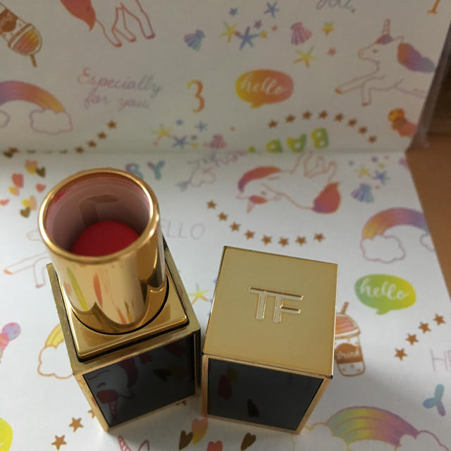 TOM FORD(トムフォード)のトムフォード リップカラー トゥルーコーラル コスメ/美容のベースメイク/化粧品(口紅)の商品写真