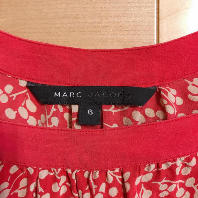 MARC JACOBS(マークジェイコブス)のMARC JACOBS  シルクブラウス サイズ6 レディースのトップス(シャツ/ブラウス(半袖/袖なし))の商品写真