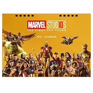 MARVEL - マーベルスタジオ 10th アニバーサリー 2019 卓上カレンダー