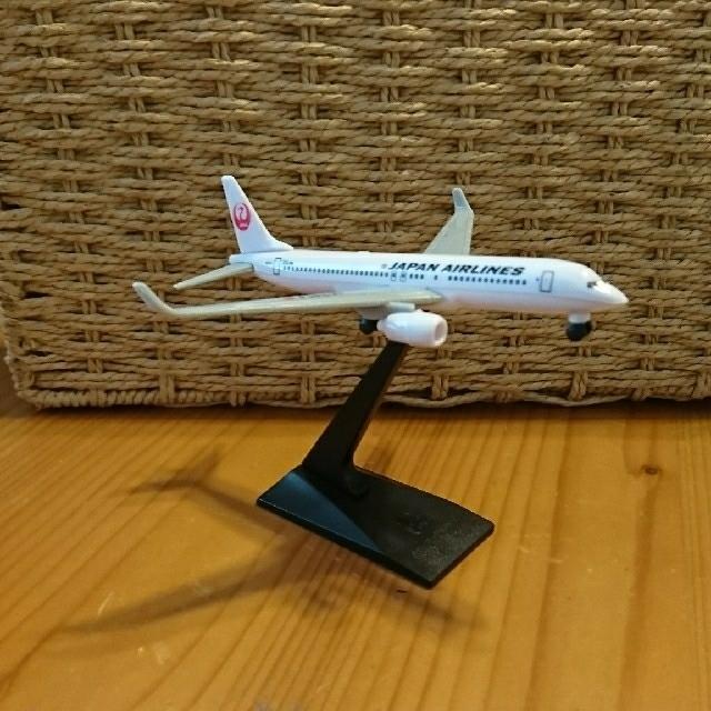 JAL(日本航空)(ジャル(ニホンコウクウ))のJALプラモデル エンタメ/ホビーのおもちゃ/ぬいぐるみ(模型/プラモデル)の商品写真