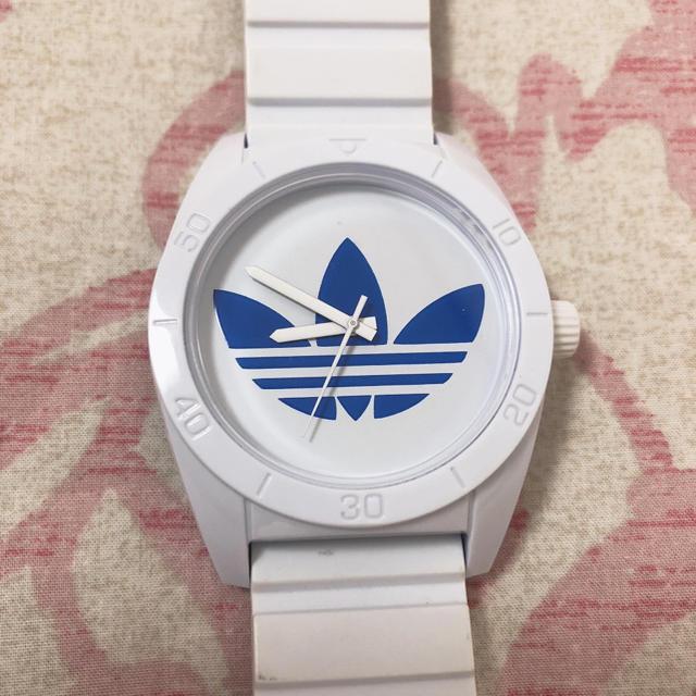 adidas(アディダス)のadidas 腕時計 白×水色 レディースのファッション小物(腕時計)の商品写真