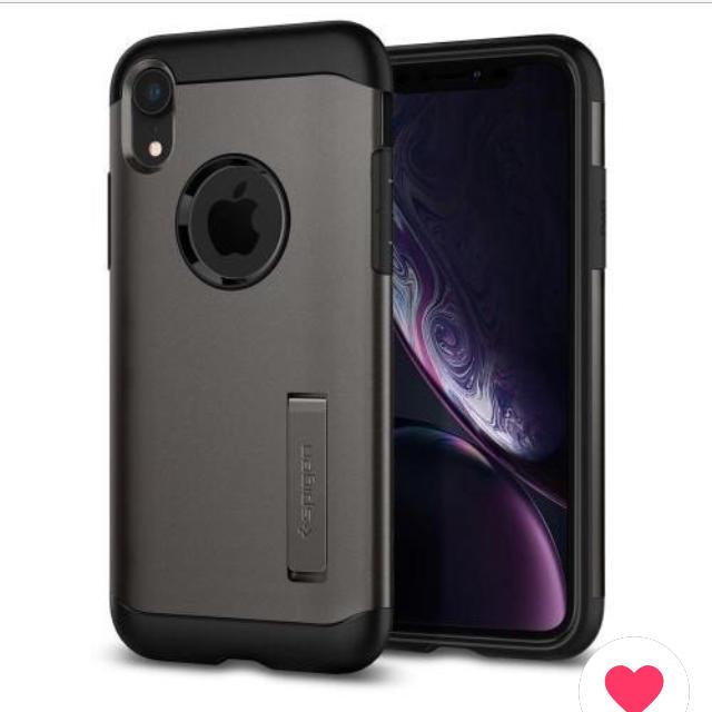 グッチ iphonexs ケース レディース - Spigen - spigen sgp iPhone XR ケース スリムアーマー ガンメタルの通販 by r.m's shop|シュピゲンならラクマ