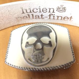 ルシアンペラフィネ(Lucien pellat-finet)のlucien ルシアン ペラフィネ  ホワイトレザーベルト(ベルト)