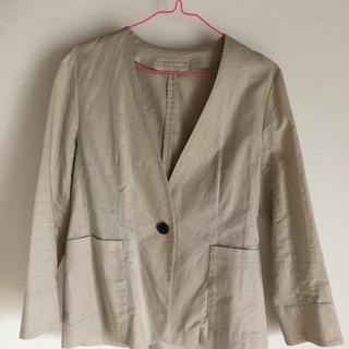 ジーユー(GU)のジャケット(ノーカラージャケット)