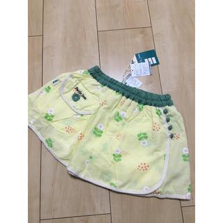 プチジャム(Petit jam)の新品 プチジャム  インパン付きお花柄スカート♡95cm(スカート)