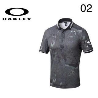 Oakley - L 新品定価14040円オークリー スカル ポロシャツゴルフウェア