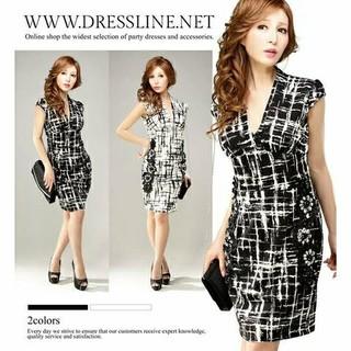 dazzy store - ドレスライン キャバドレス 美品 ブラック