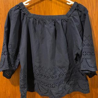 ジーユー(GU)の2点セット GU ブラウス  シャツ(シャツ/ブラウス(半袖/袖なし))