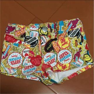 ヒステリックミニ(HYSTERIC MINI)のヒスミニ 黄色系 ショートパンツ 95 男の子 女の子(パンツ/スパッツ)