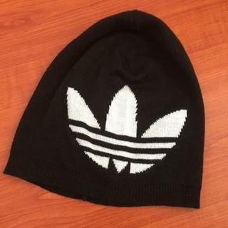 アディダス(adidas)のニット帽 Adidas アディダス ロゴ(ニット帽/ビーニー)