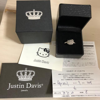 ジャスティンデイビス(Justin Davis)のJustin Davis KITTY リング キティ(リング(指輪))