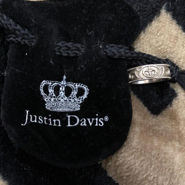 Justin Davis(ジャスティンデイビス)のJustin davis 指輪 リング 美品 レディースのアクセサリー(リング(指輪))の商品写真