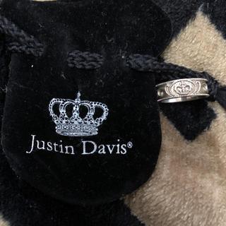 ジャスティンデイビス(Justin Davis)のJustin davis 指輪 リング 美品(リング(指輪))