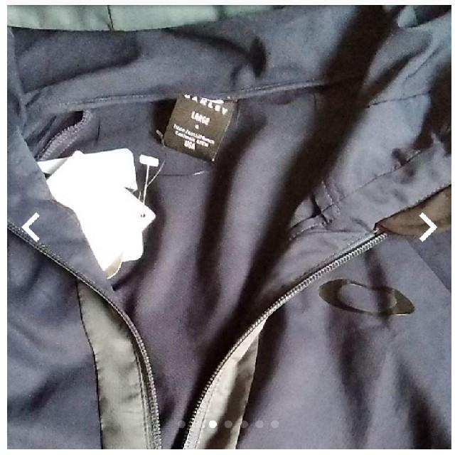 Oakley(オークリー)のオークリーEnhance Double Cloth Hoody Jacket スポーツ/アウトドアのゴルフ(ウエア)の商品写真