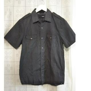 ハーレー(Hurley)の人気ブランド Hurley ハーレー 半袖シャツ コットン Sサイズ ブラック(シャツ)